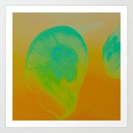 Atomic Bubble Art Print