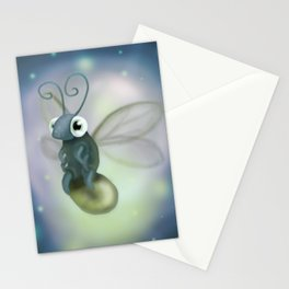 Firefly Digital Painting Stationery Cards