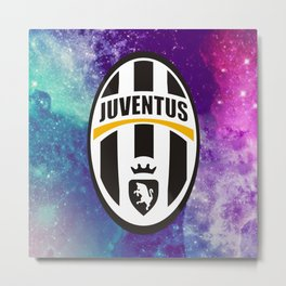 Juventus Galaxy Edition Metal Print