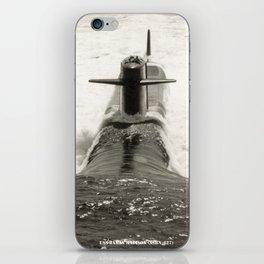 USS JAMES MADISON (SSBN-627) iPhone Skin
