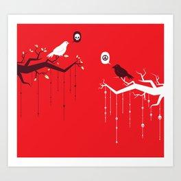 Peace and Death Art Print