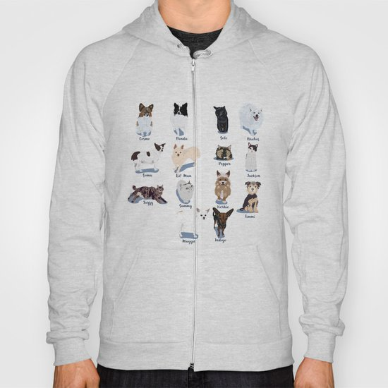 14 Dogs & Kitties Hoody