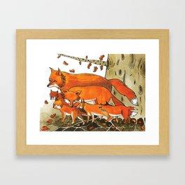 Noah's Ark - Fox Framed Art Print