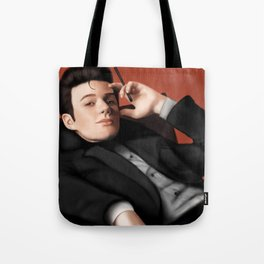 Chris Colfer - Noel Coward Tote Bag
