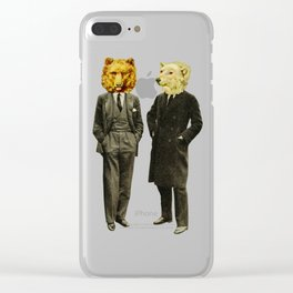 The Likely Lads Clear iPhone Case