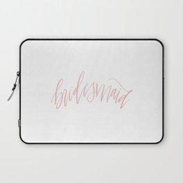 Pink Bridesmaid Laptop Sleeve