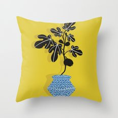 Fig tree Throw Pillow