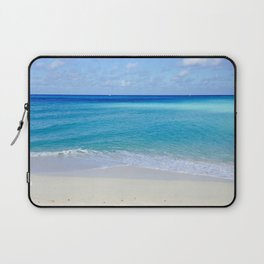 Turquoise and Sand Laptop Sleeve