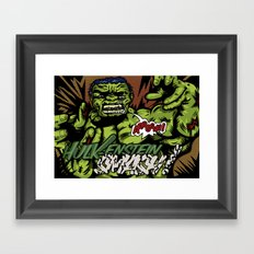 Hulkenstein SMASH! Framed Art Print