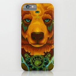 Spirit Bear (Painting) iPhone Case