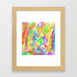 Unicorn Lollipop 4 Framed Art Print