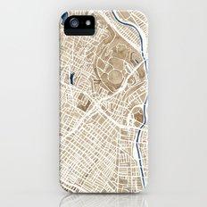 Los Angeles California City Map Slim Case iPhone (5, 5s)