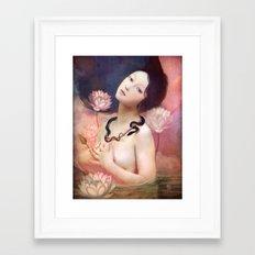 The Serpent Lake Framed Art Print