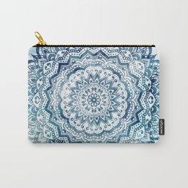 BLUE JEWEL MANDALA Carry-All Pouch
