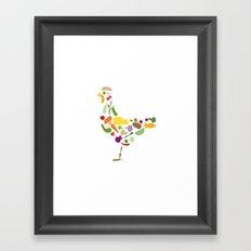 Convert a carnivore Framed Art Print