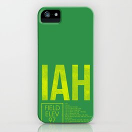 IAH iPhone Case
