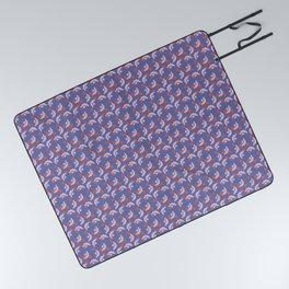 JUN - purple & pink Picnic Blanket