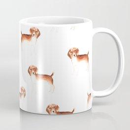 Beagle, watercolor Coffee Mug