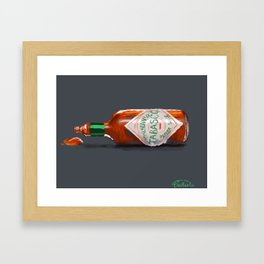 Good With Everything Framed Art Print