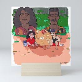 Survivor 39 Fan Art - Island of the Idols! Mini Art Print