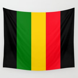 Rastafari Colors Wall Tapestry