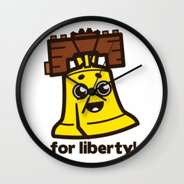 For Liberty Wall Clock