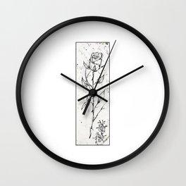 /rose Wall Clock