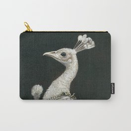 Victorian Peacock Lady Carry-All Pouch