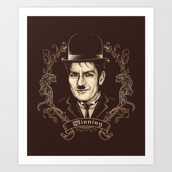 Sir Charlie Art Print