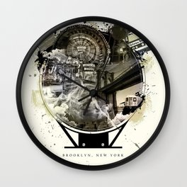 The Essence of Brooklyn Wall Clock