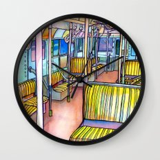Love NYC's everything No.4 Wall Clock