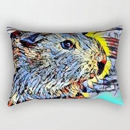 Color Kick - Guinea pig Rectangular Pillow