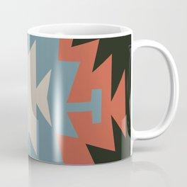 Southwestern Santa Fe Tribal Indian Pattern Coffee Mug
