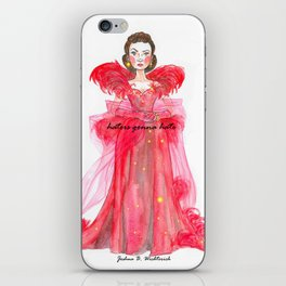 Scarlet O'hara: Haters Gonna Hate by Joshua B. Wichterich iPhone Skin