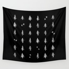 Midnight Pines Wall Tapestry