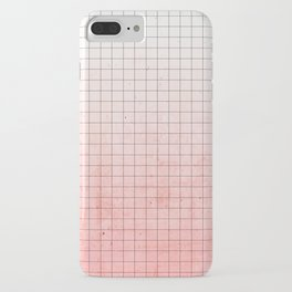 Sweet Pink Geometry iPhone Case