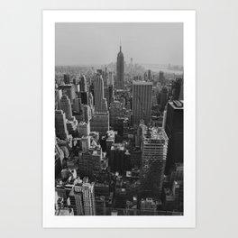 New York City Print Art Print