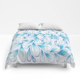 Cerulean Spray  Comforters