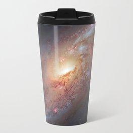 Spiral Galaxy M 106 Travel Mug