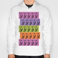 dean winchester Hoodies featuring Dean Winchester Warhol Style by Sumisu Illustrations