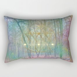 Magic of the Woods Rectangular Pillow
