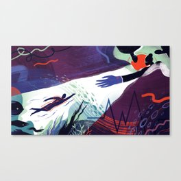 Under Anesthesia Canvas Print
