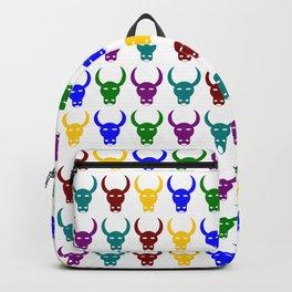 Bull 1, Bull Head, Vector, Design Backpack
