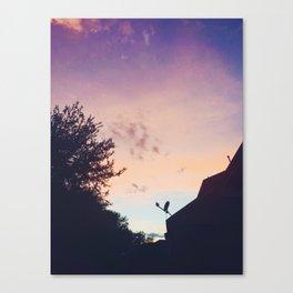 Ombré Sunset Canvas Print