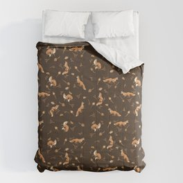 Foxes pattern Comforters