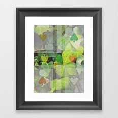 hyedra wall Framed Art Print