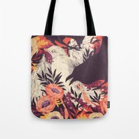 death Tote Bags featuring Harbors & G ambits by Teagan White