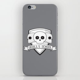 Skull's School iPhone Skin