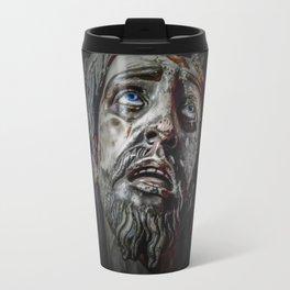 Jesuschrist Face Dark Poster Travel Mug