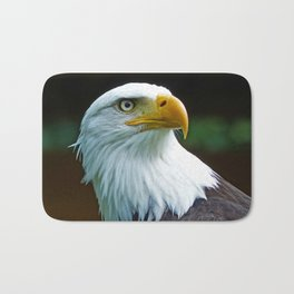 American Bald Eagle Head Bath Mat